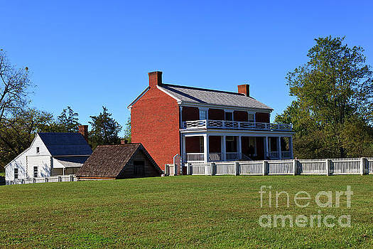 McLean House in Appomattox by Jill Lang
