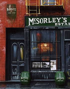 McSORLEY'S of New York by Janet Ternoff