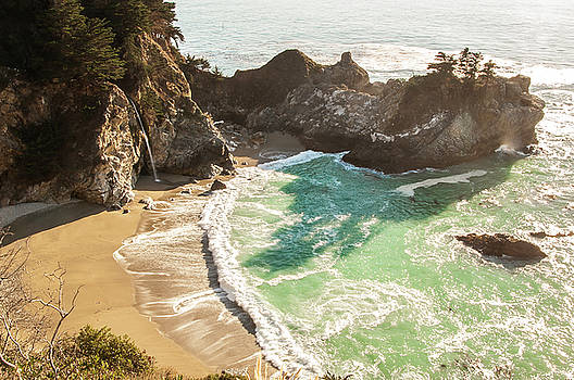 McWay Falls, California by Heather Grow