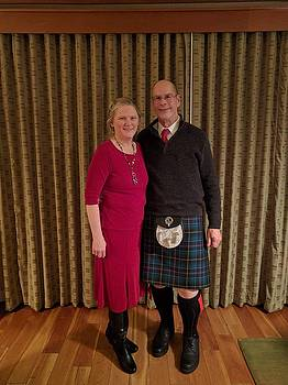 MD in Kilt by Mary McInnis