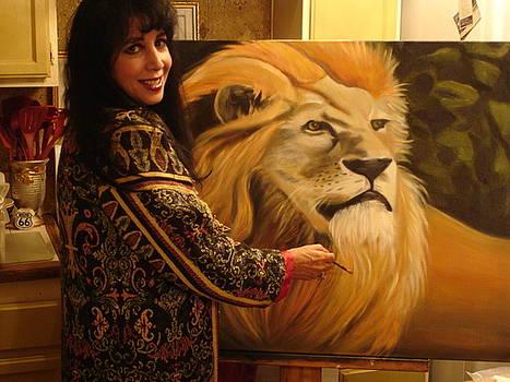 Me and Lionardo by Linda Mungerson