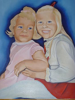 Me and my sister by Nancy Talbot