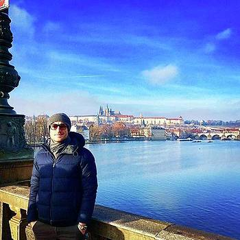 #me #prague #czech #travel by Marco Capo