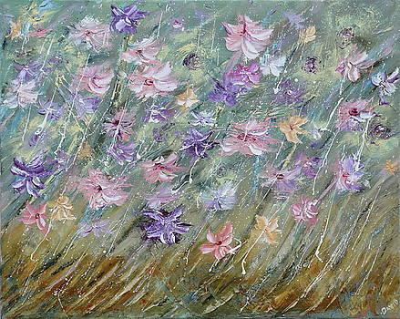 Meadow Flowers by David King Johnson