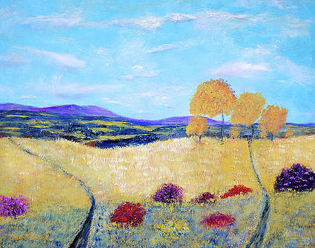 Meadow View  by Dick Bourgault