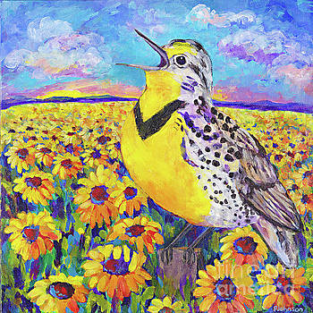 Meadowlark Song by Peggy Johnson by Peggy Johnson