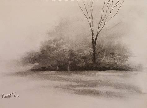 Meadows Edge At Morning by Regina Calton Burchett