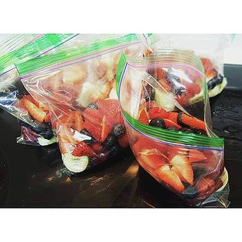 Meal Prepping These Little Bags Of by Brittany Weigang