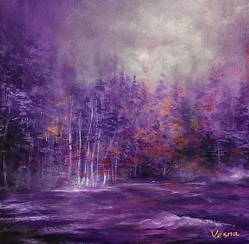 Meaning Purple  by Vesna Delevska