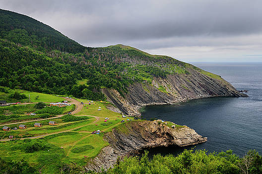 Reimar Gaertner - Meat Cove campgrounds at the north tip of Cape Breton Island Nov