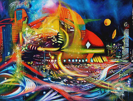 Mecha by Leonard Aitken