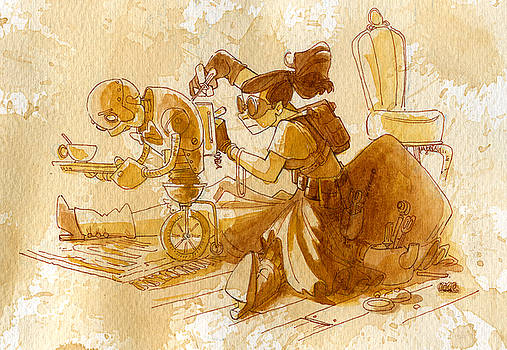Mechanic by Brian Kesinger