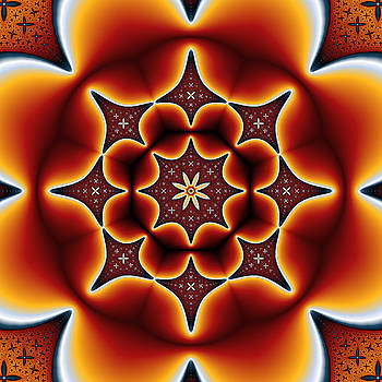 Mechanical Flower No. 2 by Mark Eggleston