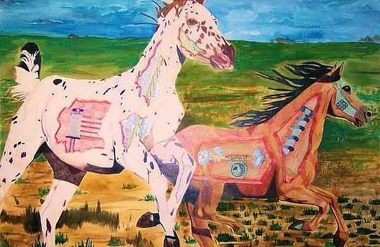 Mechanical horses by Sherri Ward