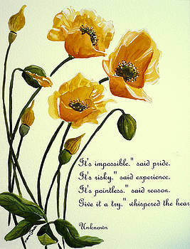 Meconopsis Poem By Karin Dawn Kelshall Best