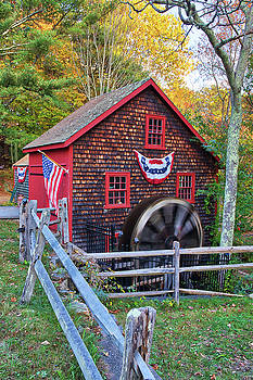 Medfield Kingsbury Grist Mill by Juergen Roth