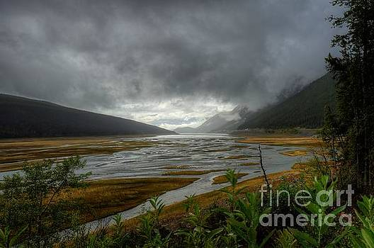 Wayne Moran - Medicine Lake Disappearing Lake Jasper National Park Alberta Canada
