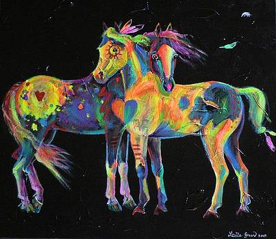 Medicine Ponies by Louise Green