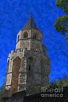 Medieval Bell Tower 2 by Jean Bernard Roussilhe