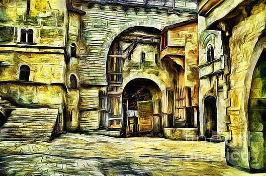 Medieval Castle by Milan Karadzic