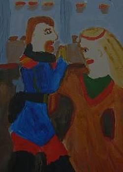 Medieval Dance by Annie Dameron
