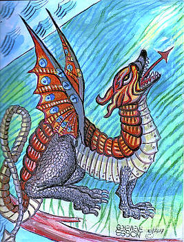 Medieval Dragon by Genevieve Esson