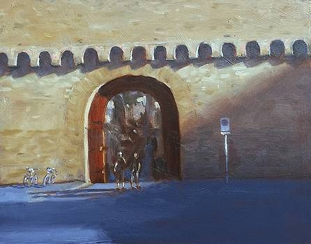 Medieval Gate by Michael Gillespie