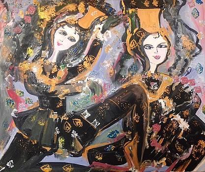 Medieval Gemini  by Judith Desrosiers