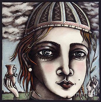 Medieval Herbalist by Valerie White