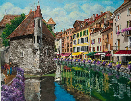 Charlotte Blanchard - Medieval Jail in Annecy