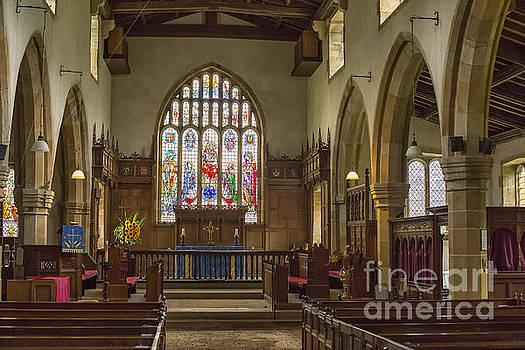 Patricia Hofmeester - Medieval St Michael church Kirkby Malham