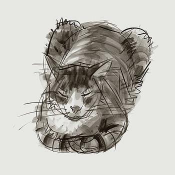 Judith Kunzle - Meditating Cat