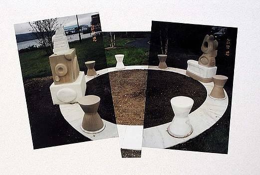 Meditation Circle by Paul Greco