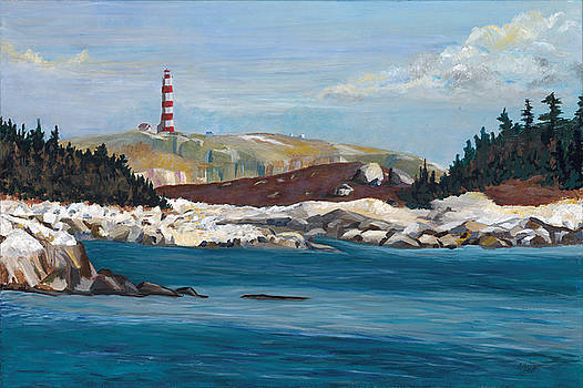 Meditations on the Sambro Light by Edith Hicks