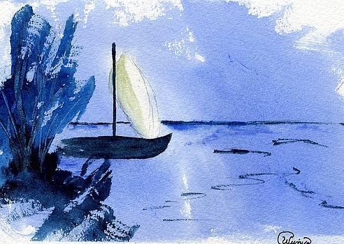 Mediterranean Blue by Wendy Cunico