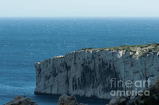 Mediterranean cliff by John Janicki