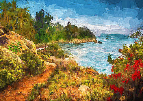 Mediterranean coast by Nabil REJAIBI