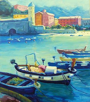 Mediterranean Harbor by Ningning Li