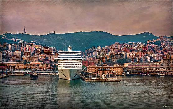 Mediterranean Port by Hanny Heim