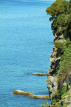 Mediterranean Sea coast by Cristian Mihaila