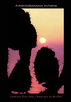 Mediterranean Sunrise POSTER by Robert J Sadler