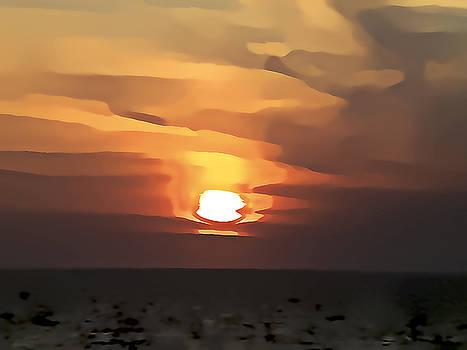 Mediterranean Sunset by Gareth Davies