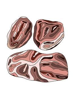 Medium Rare Meat Slabs by Cortney Herron