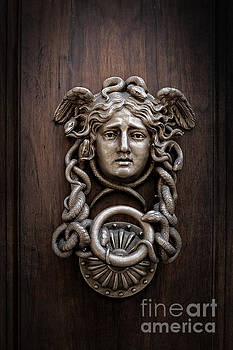 Edward Fielding - Medusa Head Door Knocker