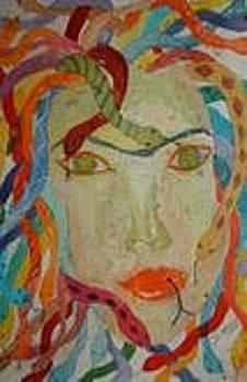 Medusa by Sandra Woods