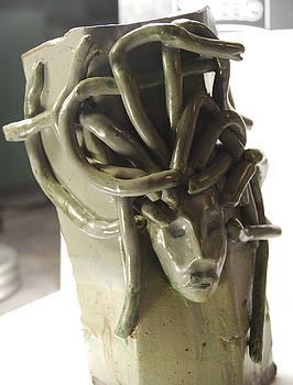 Medusa Vase by Ariel Rose