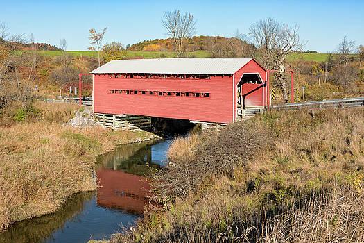 Meech Creek Covered Bridge by Eunice Gibb