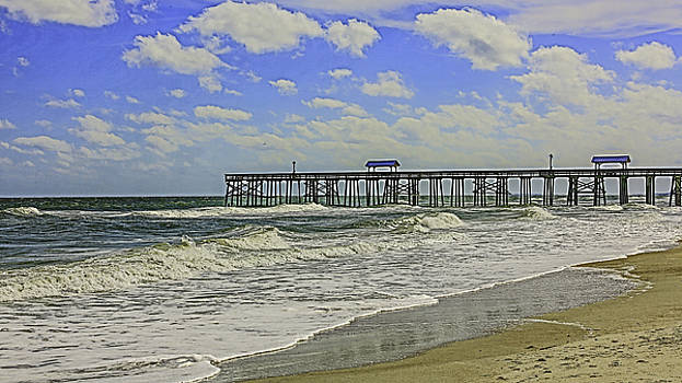 Paula Porterfield-Izzo - The Pier on the Ocean