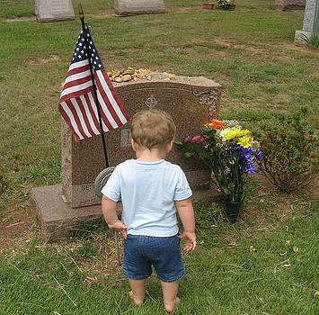 Meeting with my grandpa by Jennifer  Sweet