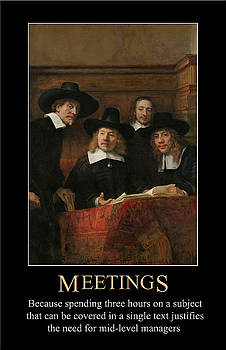 Meetings by John Haldane